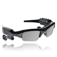 8GB Spy Sunglasses Video Hidden Camera DVR + MP3 Player + Bluetooth Stereo Heads