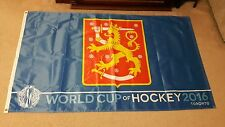 2016 WORLD CUP OF HOCKEY TORONTO CANADA FLAG BANNER 5' x 3 ' FEET FINLAND GREAT