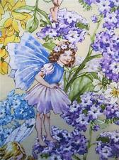Sunkissed Day Fairies Michael Miller Fairy Blue Yellow Fabric Yard