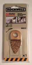 NEW NIP ROCKWELL SONICRAFTER CARBIDE GRIT FINGER RASP BLADE RW9117