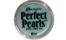 MINT Perfect Pearls Pigment Powder 1oz Jar - Ranger