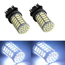 2PCS T25 3157 127SMD 1206 LED Brake Reverse Light Bulb Turning Lamp Bulbs