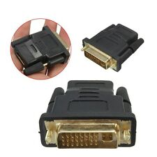 DVI-I 24+5 Pin Male to HDMI Female Adapter Connector Converter For Video Cable