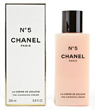 100%AUTHENTIC SEALED BOX HUGE 200ml CHANEL Nº5 PARFUMED THE BODY CLEANSING CREAM
