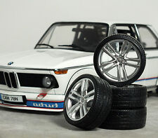 1:18 Minichamps MK3 AUDI TT 'Quattro' WHEELS SET MODIFIED TUNING FELGEN RS VW