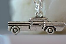 NI002 Car Necklace, Impala, Supernatural, Vintage, Retro, Licence, Driving