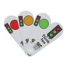 Traffic Lights Visual Symbols Fan for Autism, ASD, Non Verbal and SEN.
