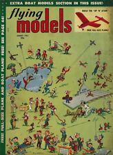 Aug 1953 Flying Models Magazine - Model Airplanes