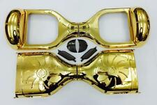 """Replacement Rich Gold Chrome Cover Skin Shell Self Balancing Scooter 6.5"""" DIY"""