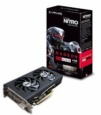Sapphire Video Card 11257-02-20G NITRO RX460 4GB GDDR5 OC PCI Express Retail