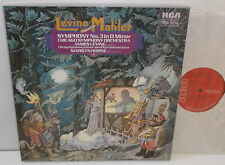 RL 01757 Mahler Symphony No.3 Chicago Symphony Orchestra James Levine 2LP Box