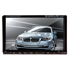 Doppel 2Din 7ZOLL HD Touchscreen BLUETOOTH AUTORADIO DVD USB GPS Navi RDS TV Pro