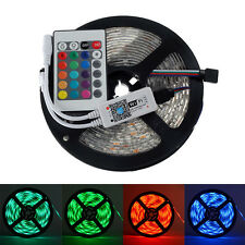 LED Strip 5050 RGB Flexible Light DC12V IP65 with Mini 24key WiFi Controller