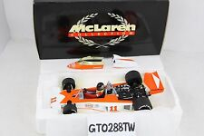 "Minichamps 1:18 scale McLaren Ford M23 F1 James Hunt(1976 World Champion) ""RUSH"""