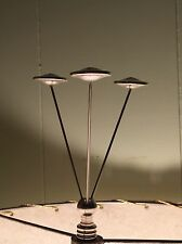 UFO Flying Saucer Squadron Area 51 Lamp Shade Finial Atomic Vintage Mid Century