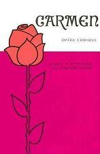 Classic Literary Adaptations : Carmen, Opra Comique (unadapted libretto in Frenc