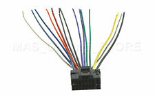 WIRE HARNESS FOR ALPINE CDE-124SXM CDE124SXM *PAY TODAY SHIPS TODAY*