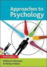 Approaches to Psychology, Good Condition Book, William E. Glassman, Marilyn Hada