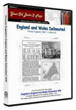 Dugdale 1846 England & Wales delineated CDROM