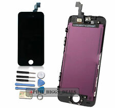 For Black iPhone 5S LCD Display Digitizer Touch Screen Assembly Replacement-UK
