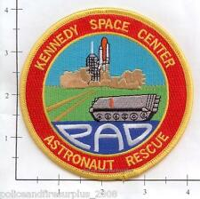 Florida - NASA Kennedy Space Center FL Astronaut Rescue Fire Dept Patch v2  PAD