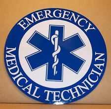 Emergency Medical Technician 9cm vinyl sticker personalised..
