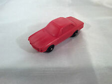 Stelco W. Germany BMW Plastik Vynil Gummi Model Auto (Red) !