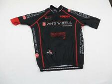 Used Light Wear Capo Womens Black Sweet Wins Wheels Bike Cycling Jersey Sz M