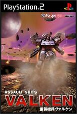 Used PS2 Assault Suits Valken   Japan Import (Free Shipping)