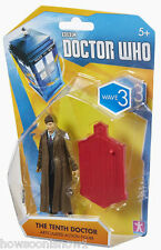 "Doctor Who 2014 3.75"" Figure Wave 3 # 5487 10th Doctor Long Coat Mint Package"