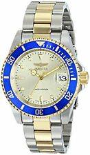 Invicta Men's Pro Diver Automatic 200m Two Tone Stainless Steel Watch ILE8928OBA