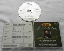 BACH Kantate Vol.16  BWV 61, 191 & 1 RILLING/BACH Ensemble GERMANY CD (1988)MINT