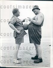 1968 Actors Geoffrey Hughes & Robert Bridges in The Virgin Soldiers Press Photo