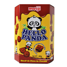 HELLO PANDA DOUBLE CHOCOLATE FLAVOUR FILLING BISCUITS - 10 X 26G