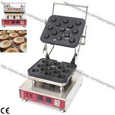 Commercial Nonstick Electric Mini Pastry Tart Tartlet Pie Machine Maker Baker