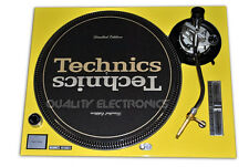 Technics Yellow Faceplate Cover for SL1200/1210 MK5