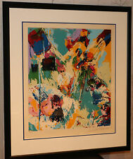 LeRoy Neiman X-Rated Filmmakers signed & numbered 1974 framed serigraph w/ COA