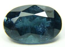 Natural blue tourmaline, 2.15ct 10x6x4mm, oval, indicolite  Brazil  M