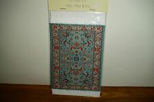 DOLLS HOUSE 12th PIKE & Co MINIATURE WOVEN CARPET / RUG