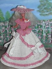 CROCHET FASHION DOLL PATTERN-ICS DESIGNS-283 CAROLINA COUNTRY