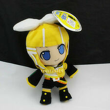 "NEW Gift RIN KAGAMINE NENDOROID PLUSH VOCALOID Plushie Plush so soft Doll 12"" US"