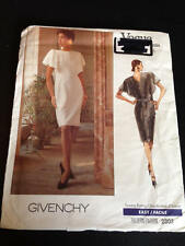 Vogue 2303 Uncut Sewing Pattern, Misses' Dress, Size 6,8,10, Givenchy