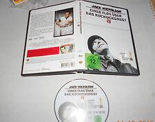 DVD Jack Nicholson Einer flog über das Kuckucksnest 5 Oscars sehr gut