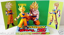 DRAGONBALL Z GOKU Action Figure on Custom Design Display Diarama Diorama [a]