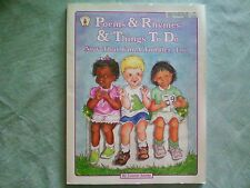Poems and Rhymes and Things to Do Now That I'm a Toddler, Too (Kids' Stuff)