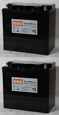 2 Pack - 12V 55Ah INVACARE PRONTO M50 M6 M71 M91 M94 R2 R51 LX Battery NEW