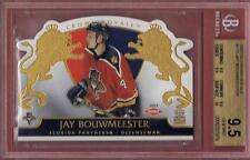 JAY BOUWMEESTER ROOKIE 2002-03 CROWN ROYALE BGS 9.5 W/10 RC 02-03