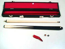 "JUNIOR CUE AND CASE SET. 36"" 2 PIECE CUE. IDEAL PRESENT FOR YOUNG PLAYERS"