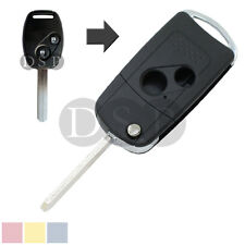 Flip Remote Key Shell fit for Honda 2 BTN Accord Fit Remote Key Shell Refit