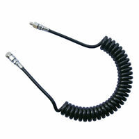 Paintball High Pressure CO2 Air Coiled Remote Line,One Female End,One Male End